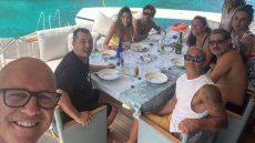 Valentino Rossi in vacanza