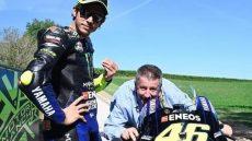 Valentino Rossi e papà Graziano
