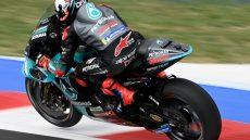 MotoGP, Andrea Dovizioso con la Yamaha M1