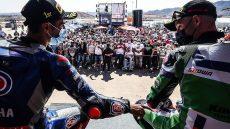 Superbike, Toprak Razgatlioglu e Jonathan Rea