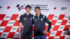 MotoGP, Luca Marini e Valentino Rossi